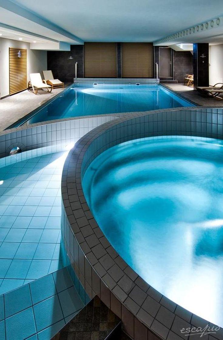 Indoor swimming pool luxus  87 best Indoor Swimming Pools images on Pinterest | Indoor pools ...