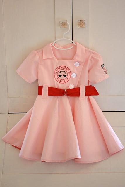 Rockford Peach outfit!!! Cutest Halloween costume ever @Megan Elizabeth