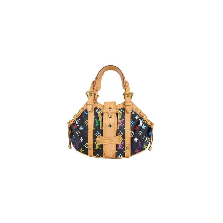 Louis #vuitton Monogram Multicolore M92348 Women's Handbag Noir
