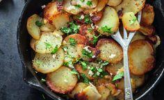 Recette de pommes de terre sarladaises par Julie Andrieu