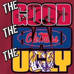 Arkansas Razorbacks Football T-Shirts The Good The Bad The Ugly <---so true