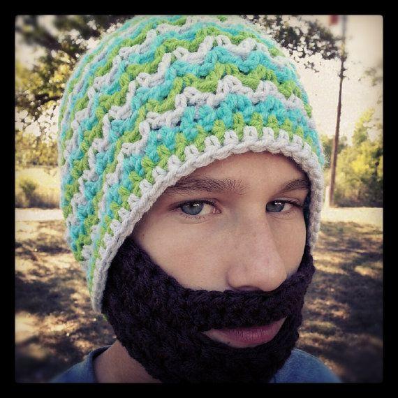 Crochet Beard Pattern Only  Instant Download by TheNeedleNerd, $3.00