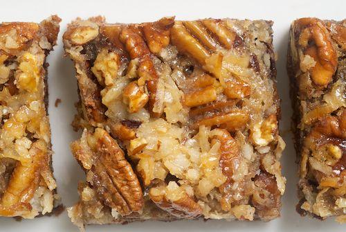 German Chocolate Pecan Pie Bars~Bake or Break
