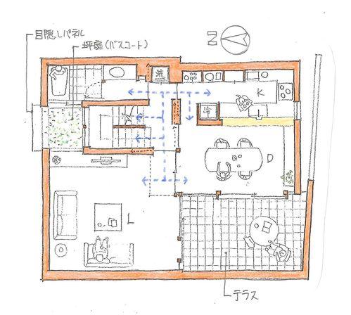 従来の日本の住まいを見ると、 水回り以外の居室は、ほとんどが畳敷きで、 その畳敷きの部屋が襖で仕切られていました。 つまり、襖を開け放つことで、それ...