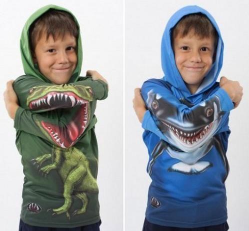 Sudaderas para niños Mouth Man