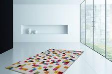 Shallow Pile Carpet Rugs Pixel Design Modern Multi Offer Multi