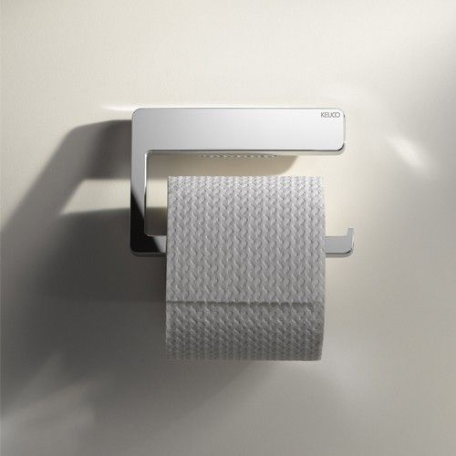 When it comes to changing the roll, there's nothing I want more than convenience, and the easy hook style of the Moll Toilet Paper Holder from Keuco is just want I want.