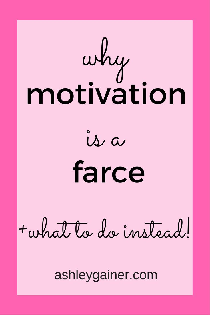 Motivation absolutely doesn't work. Here's what DOES work, ESPECIALLY for freelance writing.
