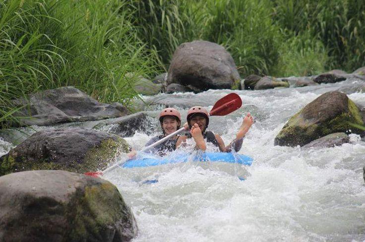 Telaga waja river bali tubing