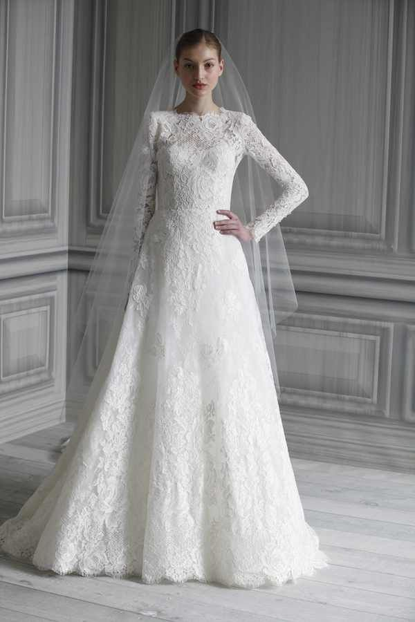 11 Pretty Perfect Wedding Dresses for the Modest Bride #PerfectMuslimWedding.com