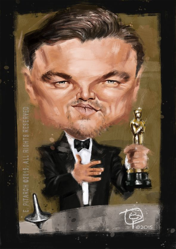 Leonardo DiCaprio. A great actor still not recognized. E. Pitarch © 2015. All rights reserved.