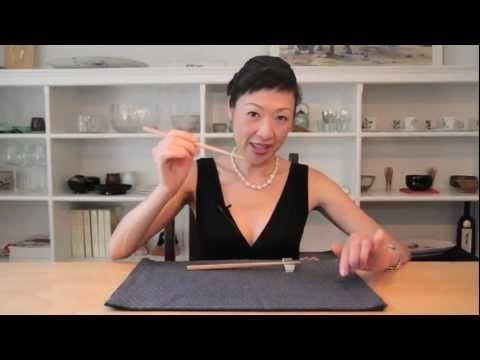 How to Use Chopsticks Correctly - Chopsticks Tips Video