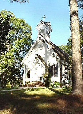St Andrews Episcopal Church (ca1871) Clinton La
