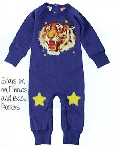 Rock Your Baby Tiger Star L/S Playsuit – Sweet Thing Baby & Childrens Wear #Winter #Cloth #Boy sweetthing.com.au