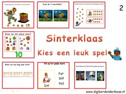 Digibordlessen Sinterklaas- groep 2