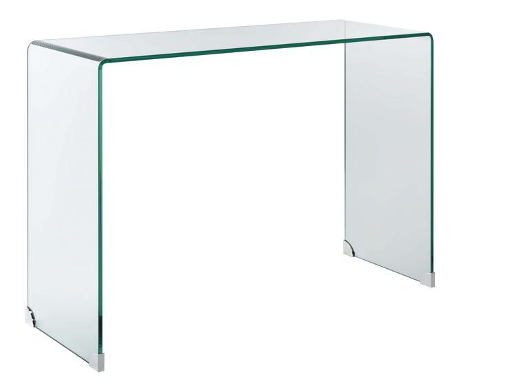 Gala - console en verre trempé - Habitat