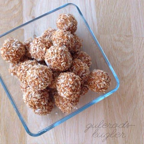 sund snack | gulerodskugler