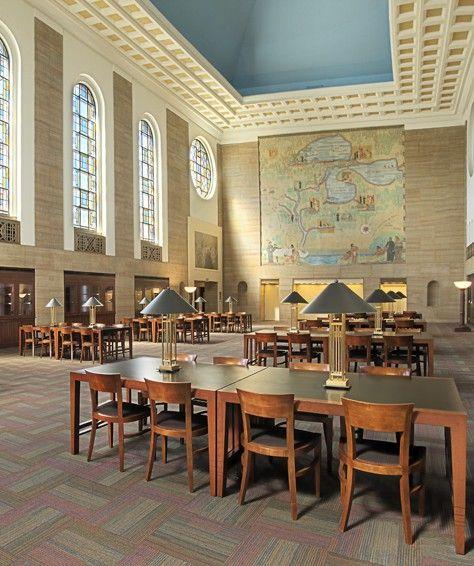 Cudahy Library Reading Room Loyola University Chicago