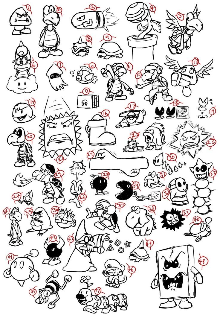 http://fc07.deviantart.net/fs71/i/2011/004/e/6/mario_enemies_doodles_by_jimmyray-d36gij4.jpg