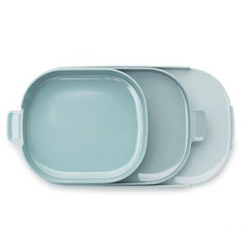Normann Copenhagen Nabo tray 3 pack, green | Trays | Tableware | Finnish Design Shop