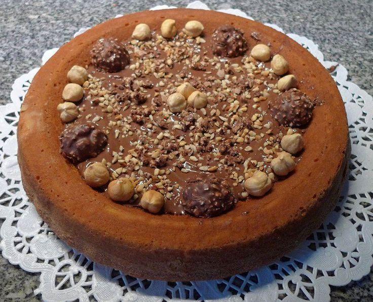Crostata morbida Ferrero Rocher