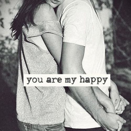 You are my happy. @emmasusanno #TrueLoveisForever