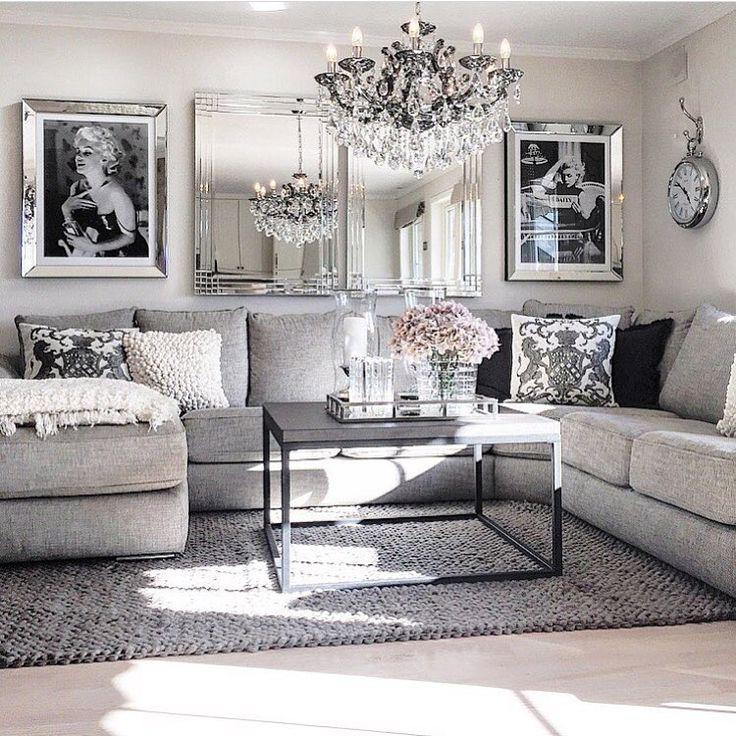Best 25+ Grey living room furniture ideas on Pinterest Chic - silver living room furniture