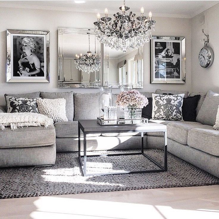 Best 25  Grey living room furniture ideas on Pinterest            . Black And Silver Living Room. Home Design Ideas