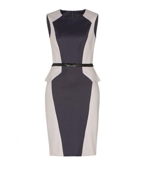 CUE - Colour Splice Dress