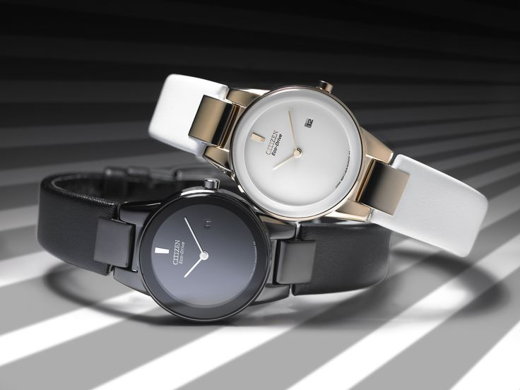 Get the monochrome look this Timepiece Tuesday with the Ladies' Axiom. MSRP £139, GA1055-06E and GA1053-01A.