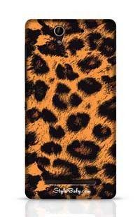 Leopard Skin Sony Xperia C3 New Phone Case