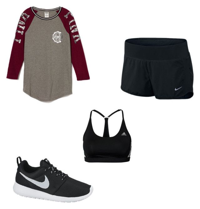 """oh damn"" by asjadolan on Polyvore featuring NIKE"