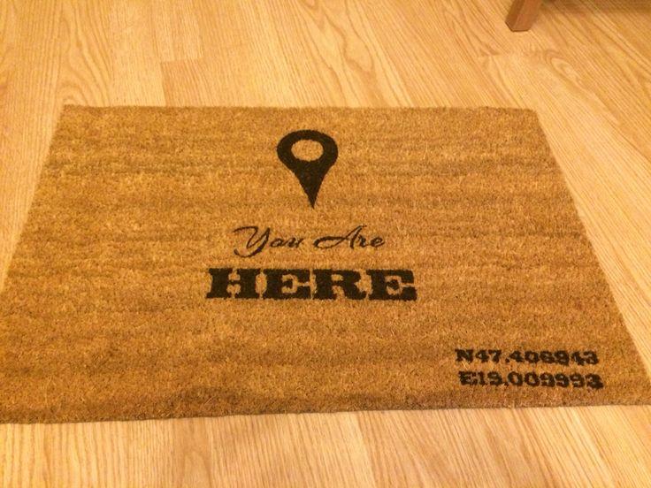 Doormat - made by neerdorka