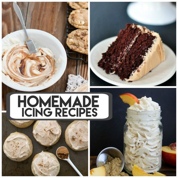 25 Amazing Homemade Icing Recipes