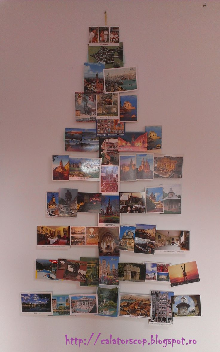 Postcards Christmas Tree