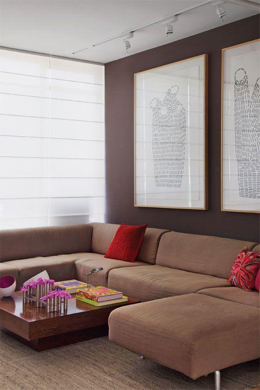 Os tons quentes da moda para pintar as paredes e renovar a decoração - Casa