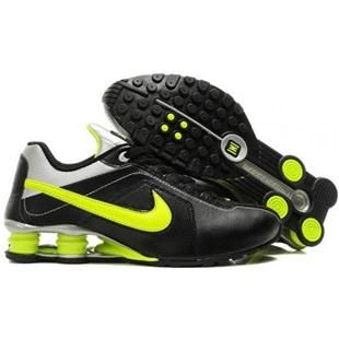 Nike Shox Current Black Grey Green Mens Shoes Quality Assurance