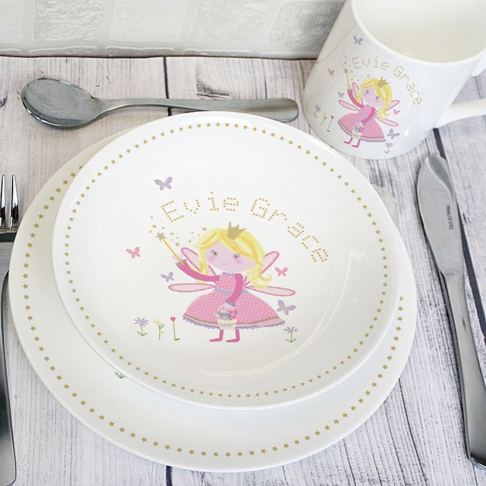 Personalised Fairy Princess Breakfast Set   Personalised Gifts, Gifts For Children