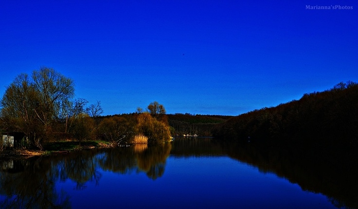 Lake Diósjenő (Diósjenő, Nógrád county, Hungary)