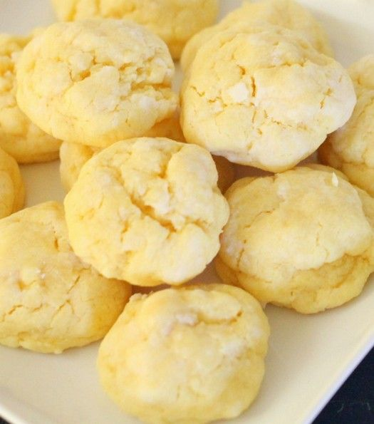 Ooey Gooey Butter Cookies. If you're looking for a quick cookie recipe that will be a hit – this is your treat!