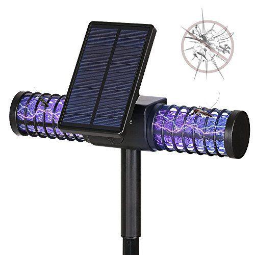 Solar Bug Zapper: Price:27.99 CaractšŠristiques: La lampe moustique tueur solaire utilise une lumiššre UV š€ haute fršŠquence qui est…
