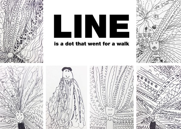 Line Art Def : Best images about elements of art line shape on