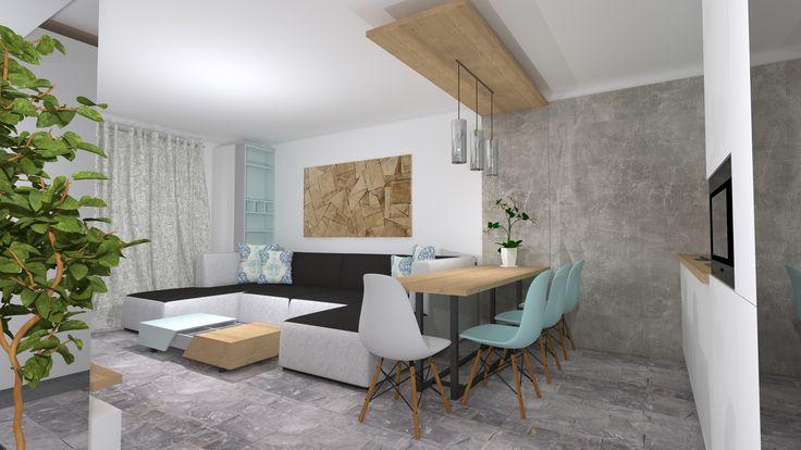 #mintandgrey#kitchendesign#MobilaRomania