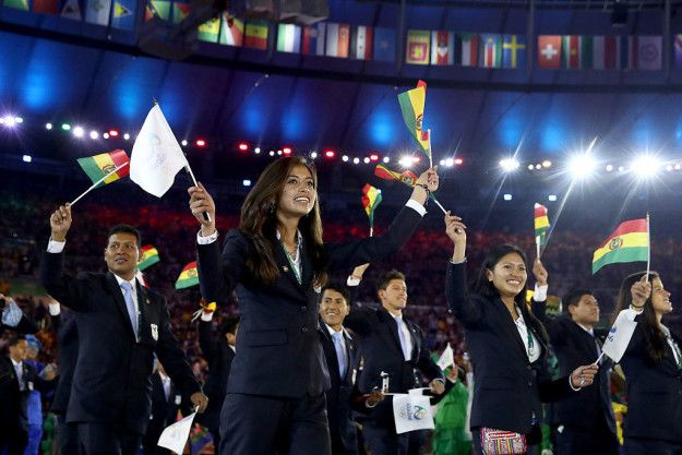 During the Olympics, there's no shortage of incredibly touching moments.   This Bolivian Olympian Crying During The Opening…