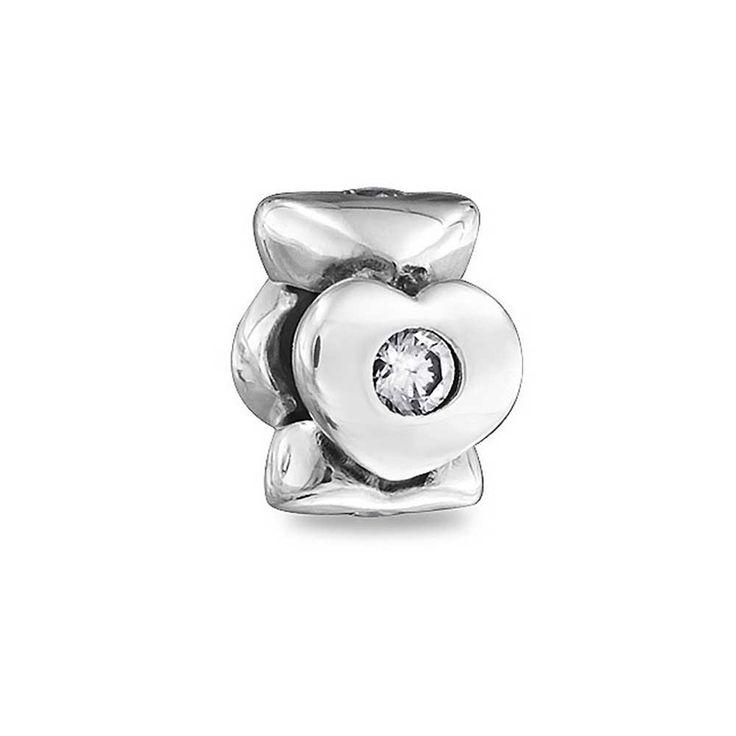 Chamilia de plata de ley y cristal de Swarovski Lil poco país Bead Charm P2iDKNIn