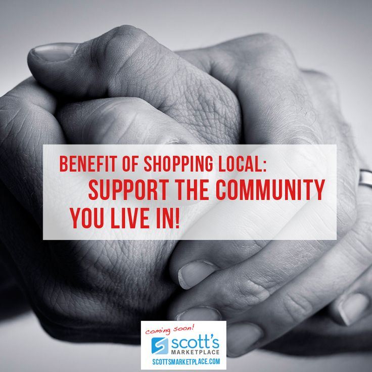 Teach and Preach: 4 Big Benefits of Shopping Locally by Scott's Marketplace