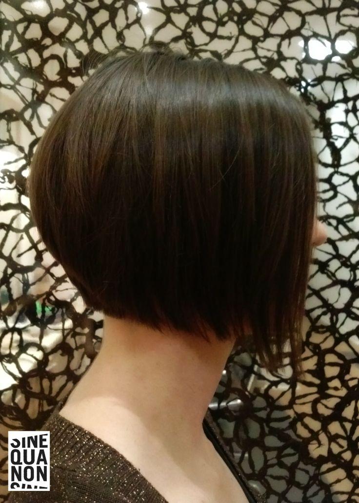 Bob haircut by Änna at Sine Qua Non Andersonville #SQNChicago