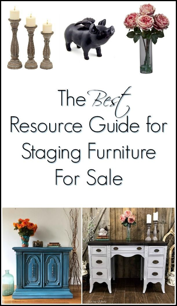 If you paint furniture to sell, or love unique home decor check out how to stage furniture using staging props or bring something different to your home design.