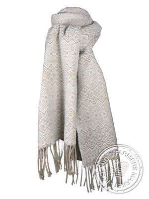 GARDAR scarf 50% Recycled cotton , 50% merino wool