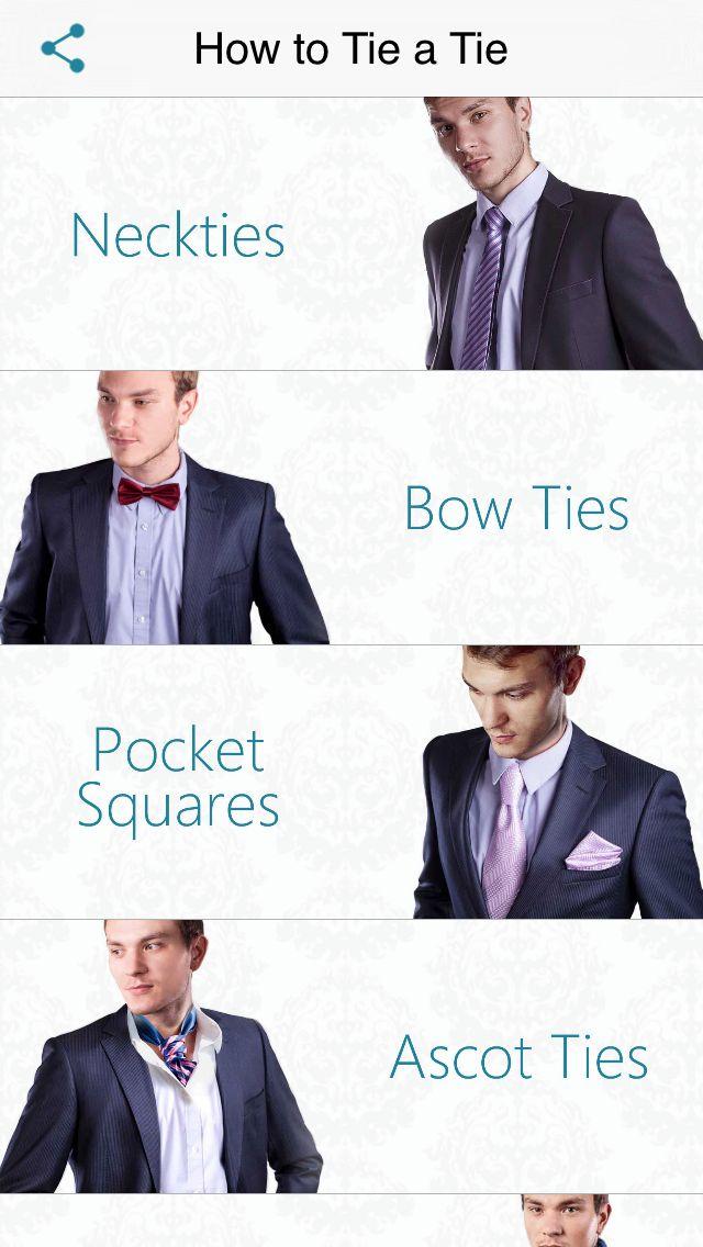 How to Tie a Tie | Novii
